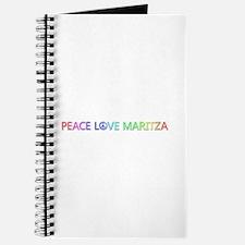 Peace Love Maritza Journal