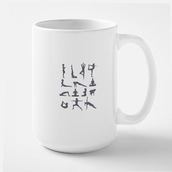Yoga Poses Mugs