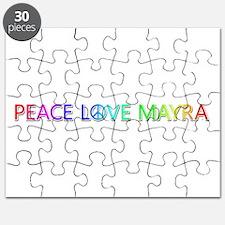 Peace Love Mayra Puzzle