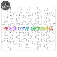 Peace Love McKenna Puzzle