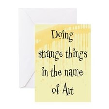 Strange Things Greeting Card