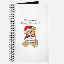 Beary Merry Christmas Journal