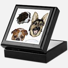 Dog collage Keepsake Box