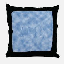 1111 Throw Pillow