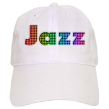 Checkered Jazz Baseball Cap