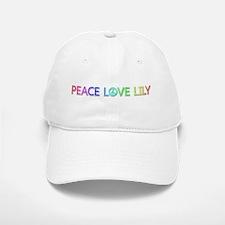 Peace Love Lily Baseball Baseball Baseball Cap