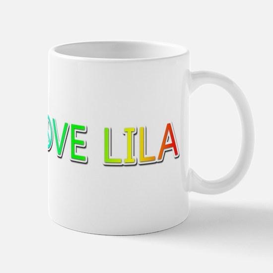 Peace Love Lila Mugs