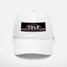 YOLO You Only Live Once sign Baseball Baseball Cap