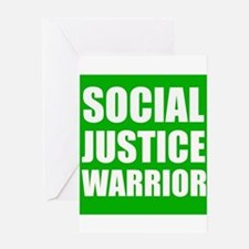 Social Justice Warrior Greeting Cards