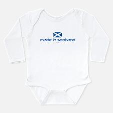 Funny Haggis Long Sleeve Infant Bodysuit