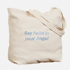 11:11 Say Hello Tote Bag