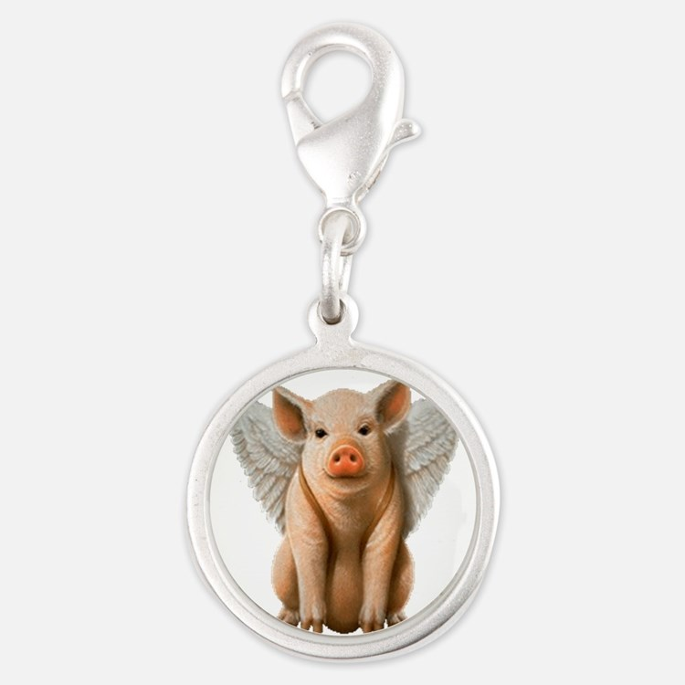 Flying Pig Charms