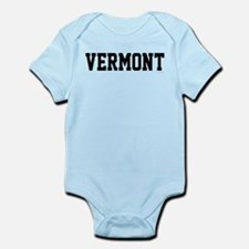 Vermont Jersey Black Infant Bodysuit