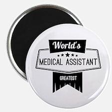 "World's Best Medical Assis 2.25"" Magnet (100 pack)"