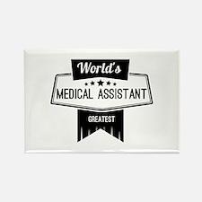 World's Best Medical As Rectangle Magnet (10 pack)