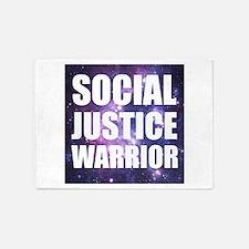 Social Justice Warrior 5'x7'Area Rug