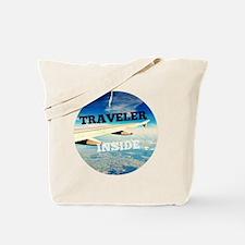Funny Travel addict Tote Bag
