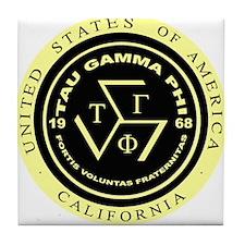 Tau Gamma Phi Tile Coaster