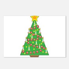 Danish Christmas Tree Postcards (Package of 8)
