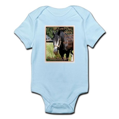 NORTHERN HORSE Source Infant Creeper