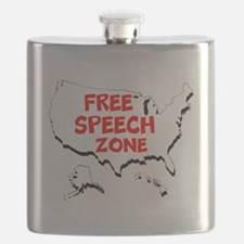 Free Speech Zone Flask