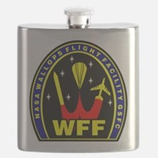 Ariane Program Logo Flask