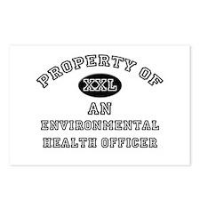 Property of an Environmental Health Officer Postca
