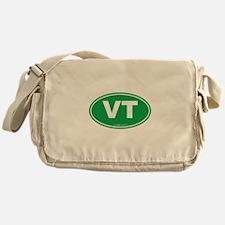 Vermont VT Euro Oval GREEN Messenger Bag