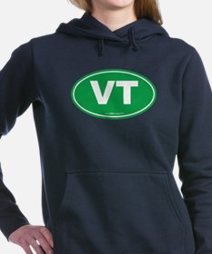 Vermont VT Euro Oval GRE Women's Hooded Sweatshirt