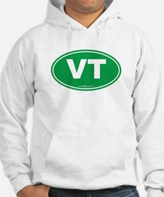 Vermont VT Euro Oval GREEN Hoodie