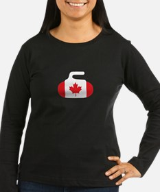 Cute Canada curling T-Shirt