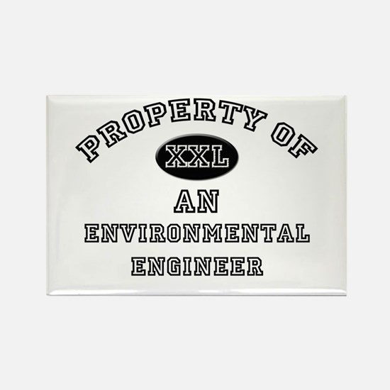 Property of an Environmental Engineer Rectangle Ma