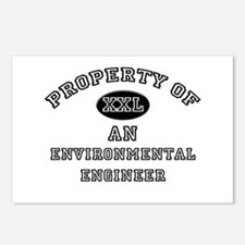 Property of an Environmental Engineer Postcards (P