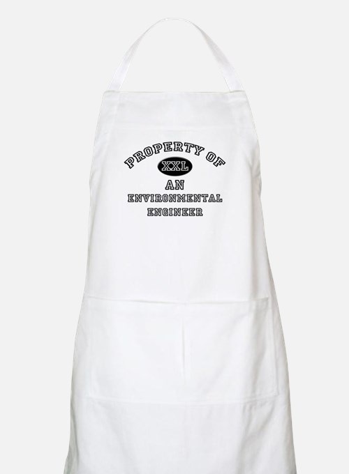 Property of an Environmental Engineer BBQ Apron