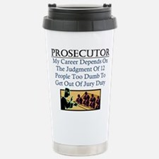 Cute Criminal law Travel Mug