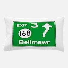 NJTP Logo-free Exit 3 Bellmawr Pillow Case