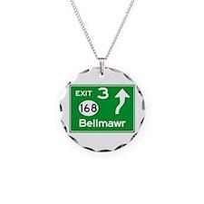 NJTP Logo-free Exit 3 Bellma Necklace Circle Charm