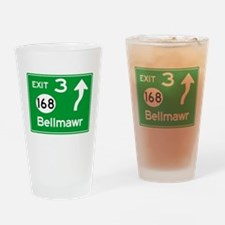 NJTP Logo-free Exit 3 Bellmawr Drinking Glass