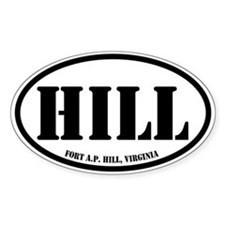 Fort AP Hill, Virginia Decal