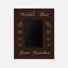 worlds best great grandma picture frame