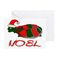 Turtle Christmas Greeting Cards (Pk of 10)