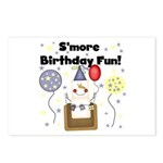 S'more Birthday Fun Postcards (Package of 8)