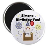 S'more Birthday Fun Magnet