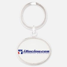 Cool Game Oval Keychain