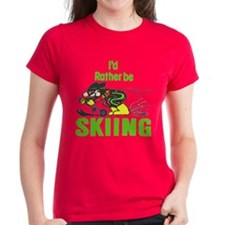 I'd Rather Be Skiing - Tee