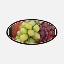 luscious wine country style fruit with grape Patch