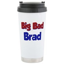 Cute Brad Travel Mug