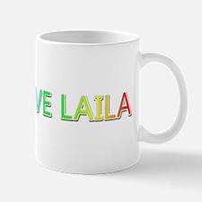 Peace Love Laila Mugs