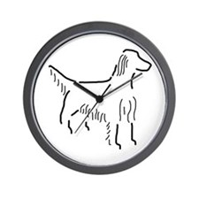 Irish Setter Sketch Wall Clock