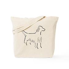Irish Setter Sketch Tote Bag